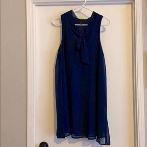 Forever 21 Navy Blue Mini Dress